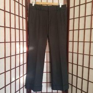 BANANA REPUBLIC BLACK DRESS PANTS SIZE 10P
